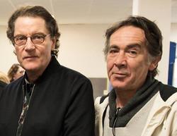 Avec Francis (photo : Schlagg)