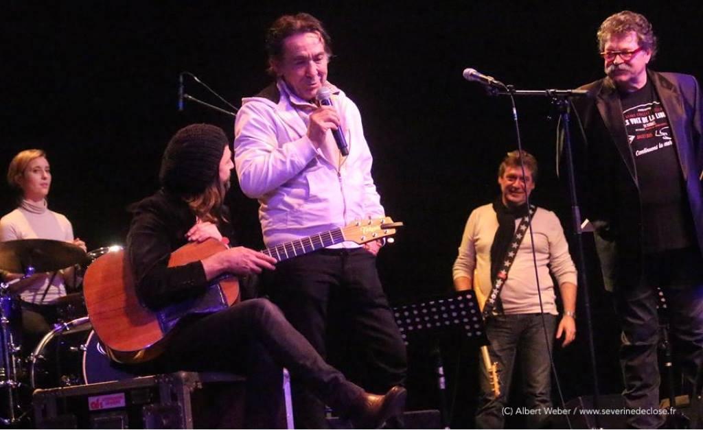 Sur scène à Strasbourg (Mickey)