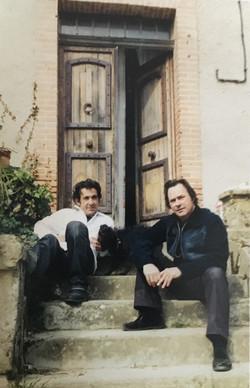 Peter Kingsbery et Marc dans le Gers