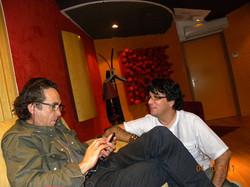 En studio avec D. Lô -photo : Donald