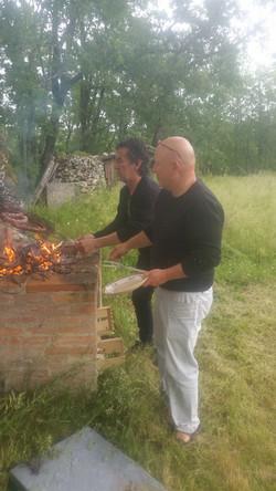 Marc et papou (Photo J. Boloch)
