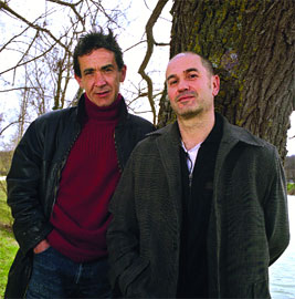 Avec Mengo (Photo : la gargouille)