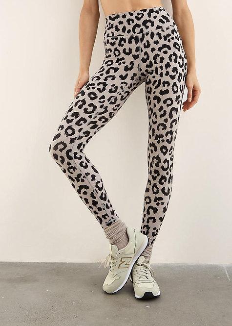 Body Language: Hailey Legging Cali Rib/Stone Cheetah