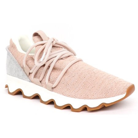Sorel: Kinetic Lace Sneaker in pink/gray