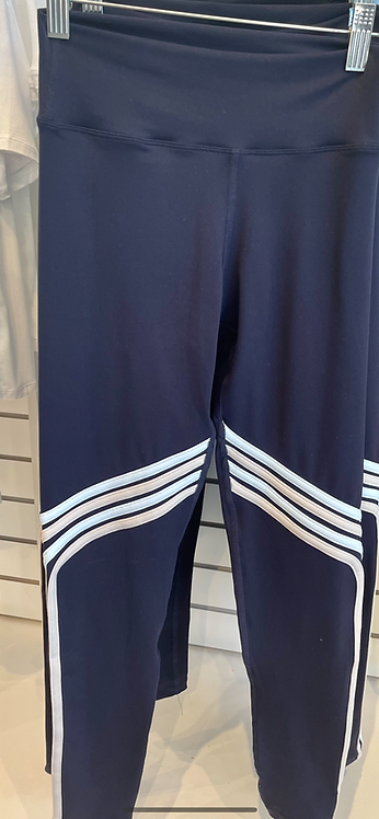 925Fit:  Gym and Tone It Ice Blue/Navy Stripe