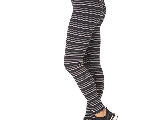 Glyder Sultry Legging Black/Grey/White Stripe