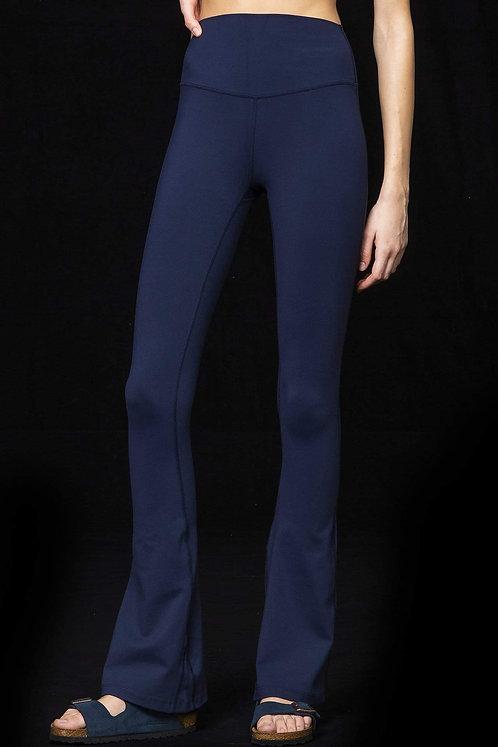 Splits59: Raquel High Waist Flare Legging - Indigo