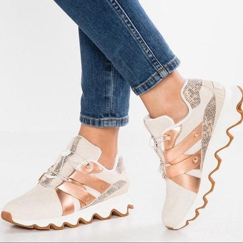 Sorel: Natural Rose Kinetic Speed Sneaker