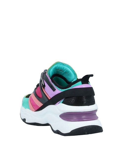 Lola Cruz: Farbe Color (Verde) Multicolor Sneaker