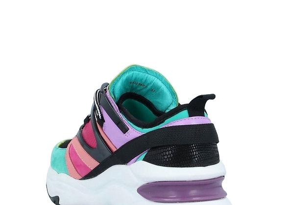 Lola Cruz: Farbe Color (Verde) Multicolor Sneaker