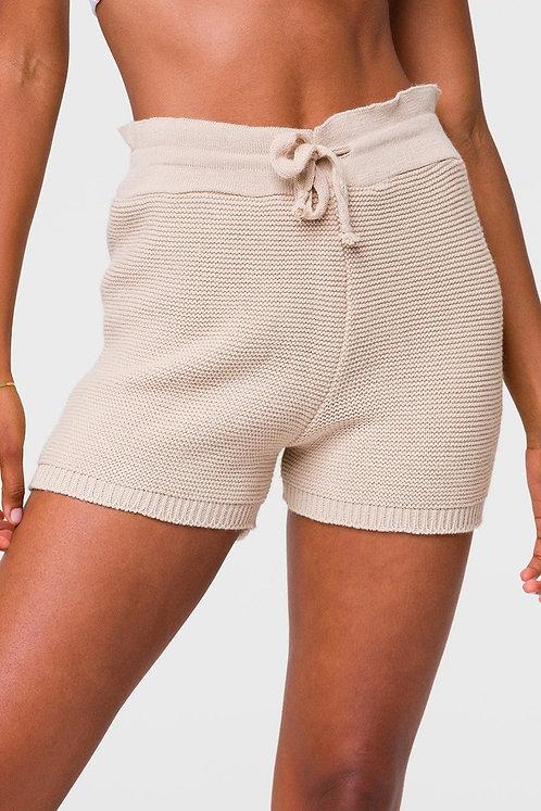 Onzie: Cozy Knit Short Cuban Sand