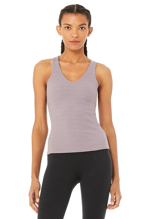 Alo Yoga: Elevate Tank Lavender Smoke