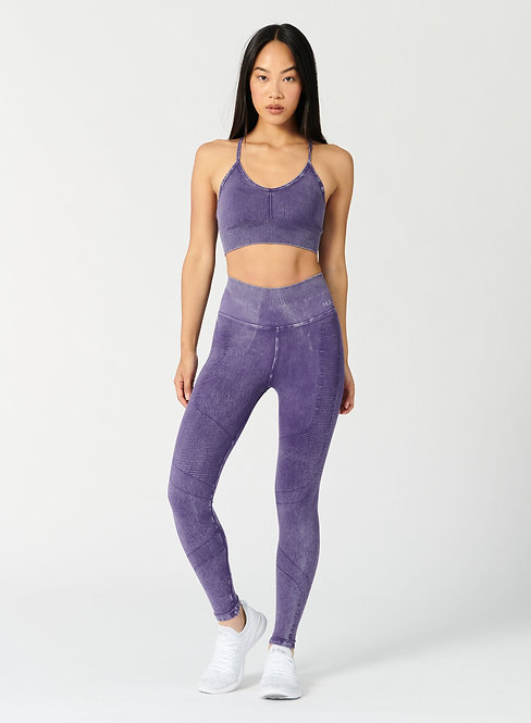 NUX Active: One By One Legging Mineral Wash Plum
