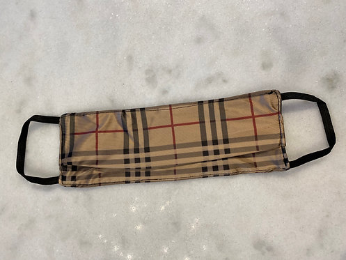Burberry: Repurposed Scarf Mask