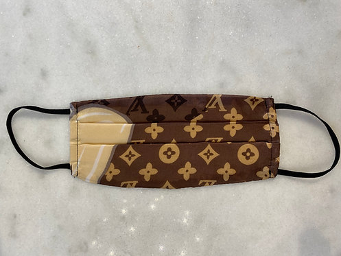 Louis Vuitton: Repurposed Scarf Mask