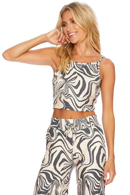 Beach Riot: Caylee Tank Psychedelic Swirl