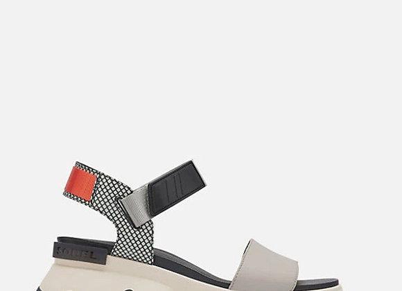 Sorel: Kinetic Sandal in Dove Colombe