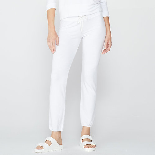 Monrow: Supersoft Vintage Sweats White