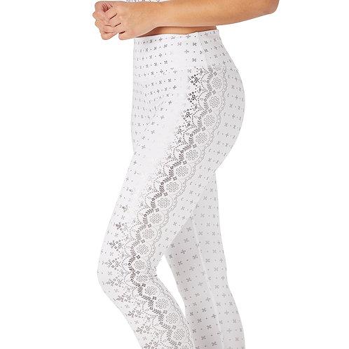 Glyder: Sultry Legging White Gloss Wildflower Print