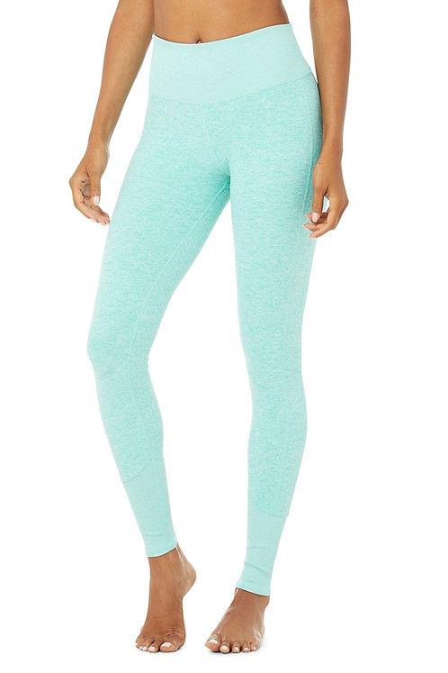 Alo Yoga: High-Waist Alosoft Lounge Legging Blue Quartz Heather