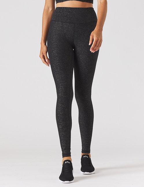 Glyder: Sultry Legging Black/Gold Shimmer