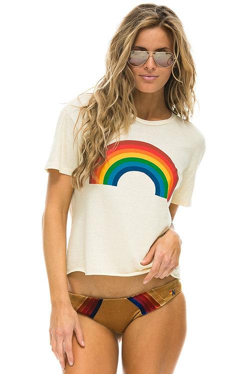 Aviator Nation: Big Rainbow Boyfriend Tee