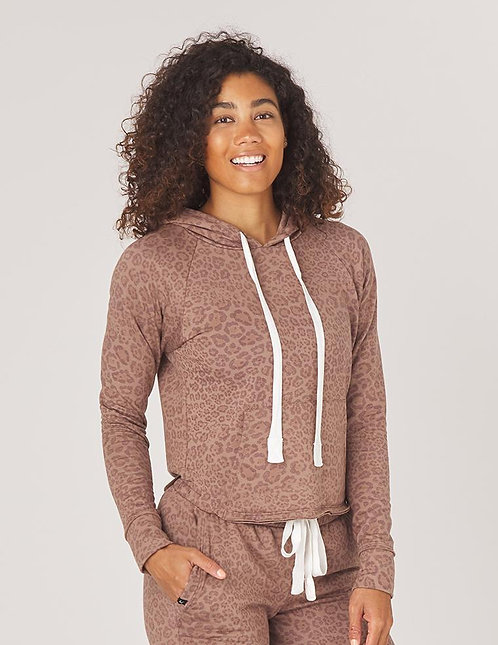 Glyder: Rocky Hoodie Cocoa Leopard