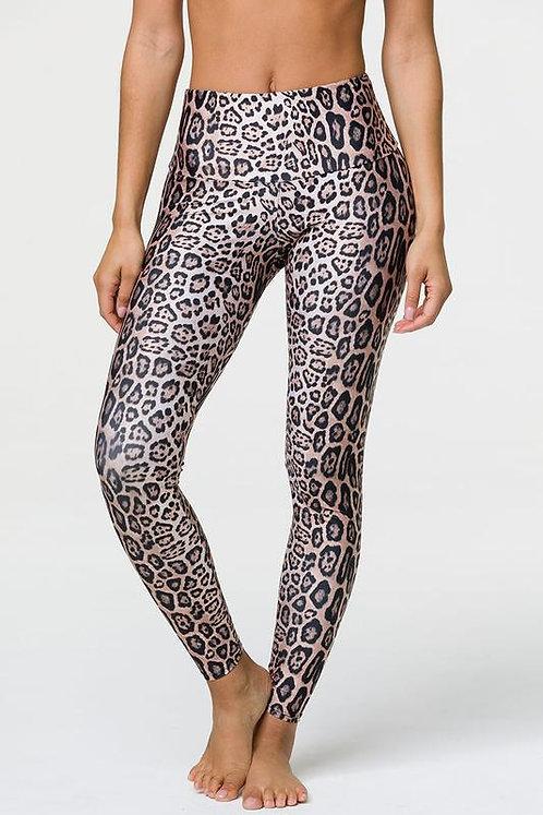 Onzie: High Rise Legging Leopard