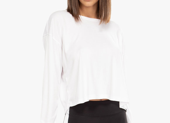 Koral: Storm Marlo Long Sleeve Top White