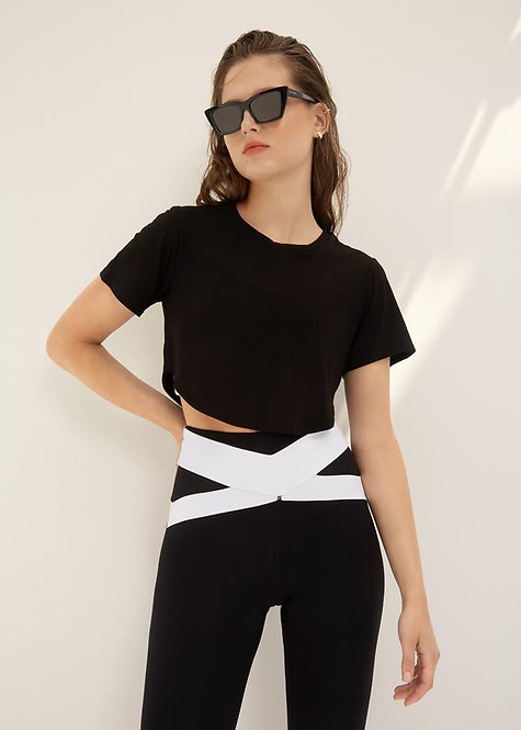 Body Language: Talia Crop Top Onyx