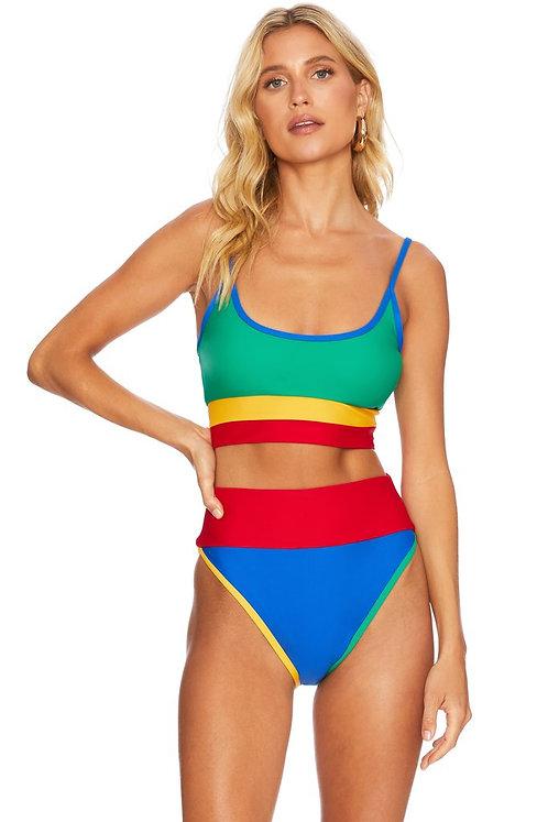 Beach Riot: Emmy Bikini Bottom Primary Colorblock