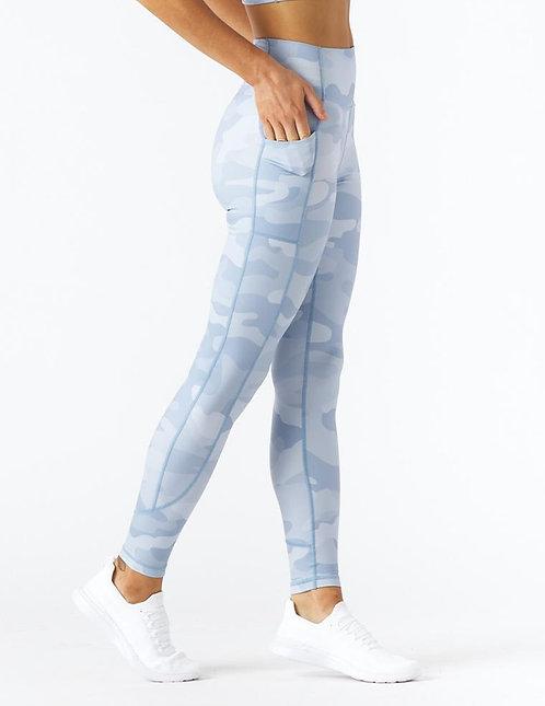 Glyder: Taper Legging French Blue Camo