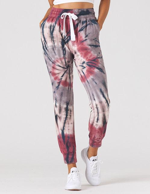 Glyder: Halfway Jogger Berry Tie Dye
