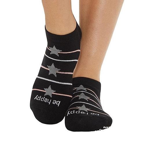 StickyBe Socks: Be Happy Estella Grip Socks (Sonoma)