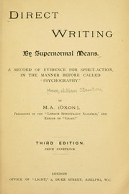 Direct Writing By Supernormal Means - W Moses