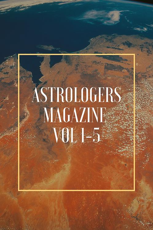 Astrologers Magazine Vol 1-5