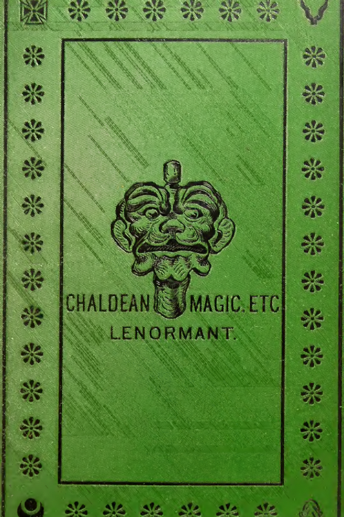 Chaldean Magic- its Origin & Development