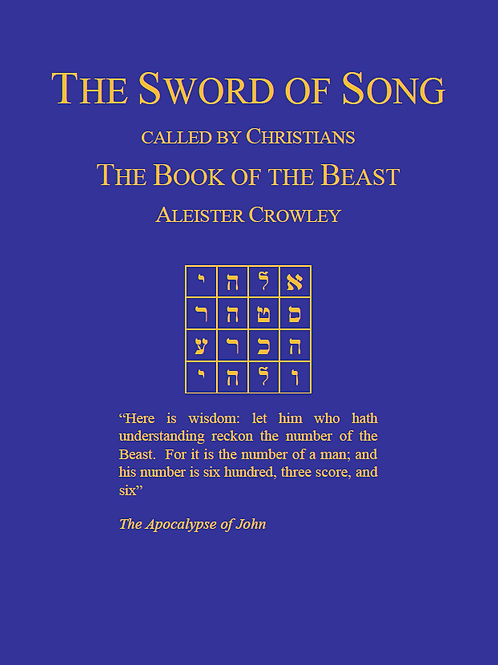 Aleister Crowley-The Sword of Song
