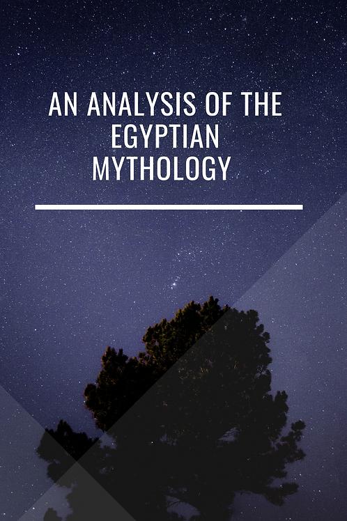An Analysis of the Egyptian Mythology - J C Prichard 1838