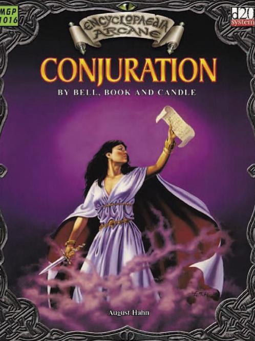 Encyclopaedia-Arcane Conjuration - August Hahn