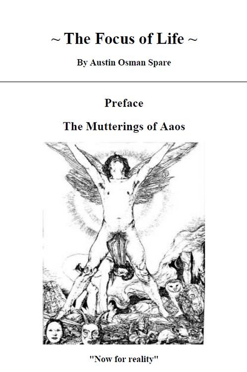 Focus of Life - Austin Osman Spare