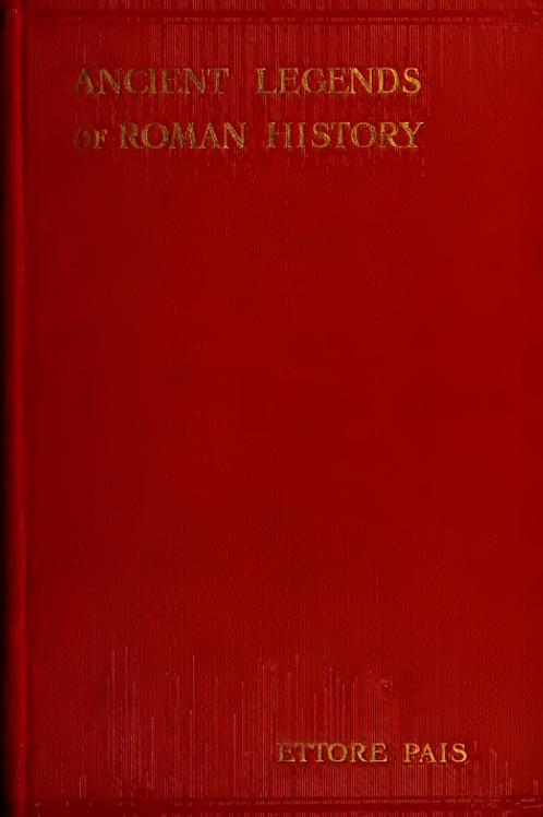 Ancient Legends of Roman History