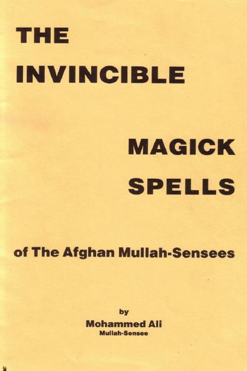Invincible Magick Spells of Mullah-Sensees - Muhammad Ali