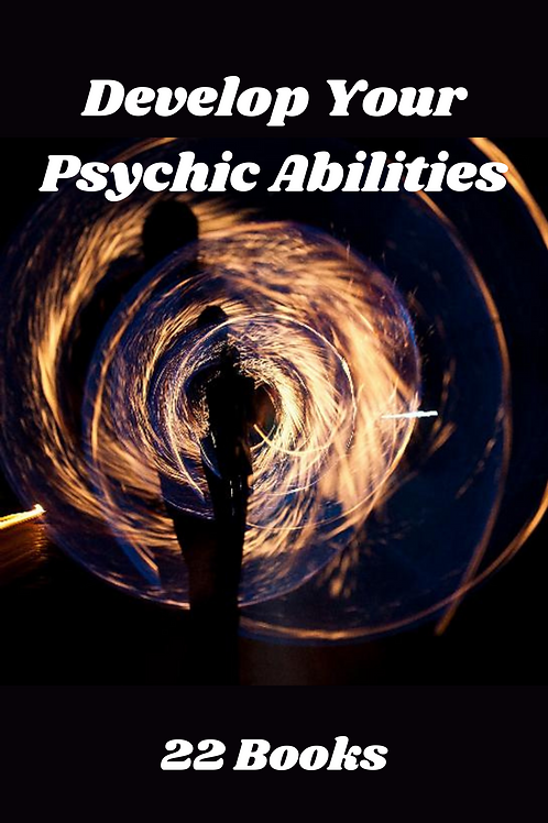 Develop Your Psychic Abilities 22 Books