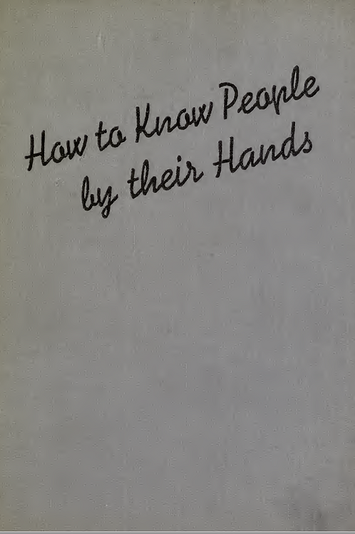 How to Know People by their Hands
