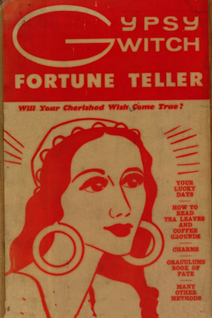 Gypsy Witch Fortune Teller - C B Case