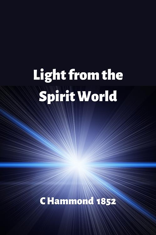 Light from the Spirit World - C Hammond 1852