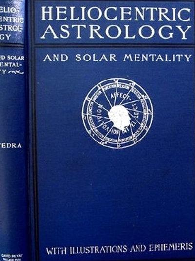 Heliocentric Astrology - H W Merton 1899