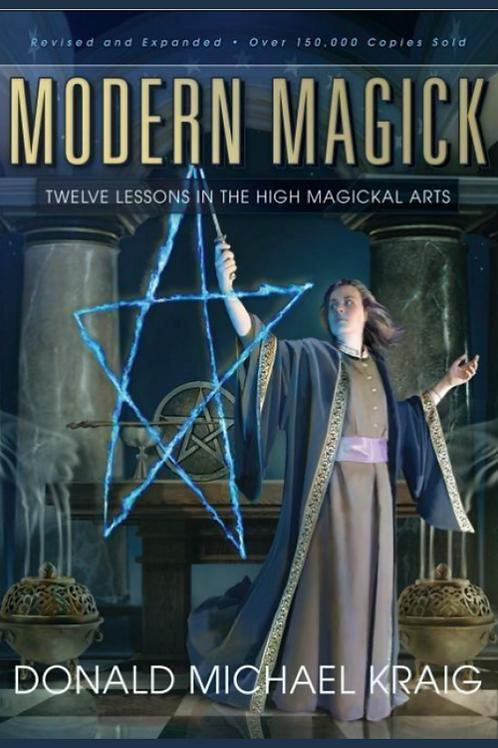 Modern Magick 12 Lessons on High Magick - Donald Michael Kraig