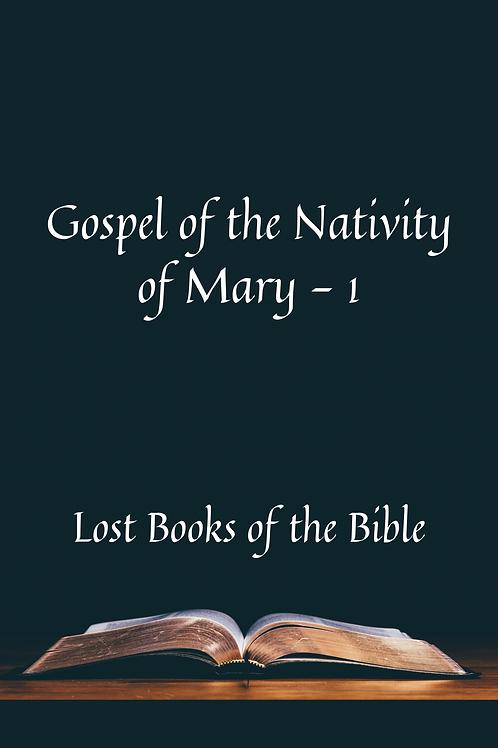 Gospel of the Nativity of Mary - 1